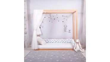 KUBO Montessori bed + slatted bed base / Montessori Kinderbett mit Rost